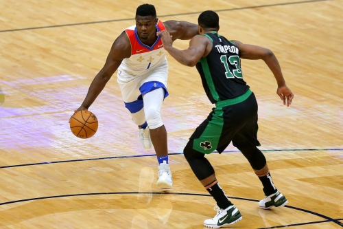 Silver lining? The Celtics defended Zion as well as one could hope