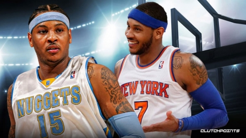 Carmelo Anthony recalls crazy meeting that spurred trade from Nuggets to Knicks