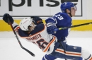 Travis Dermott steps up with Jake Muzzin down. The Maple Leafs think he's ready