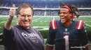 Patriots star Cam Newton explains why Bill Belichick is 'dope as s**t'