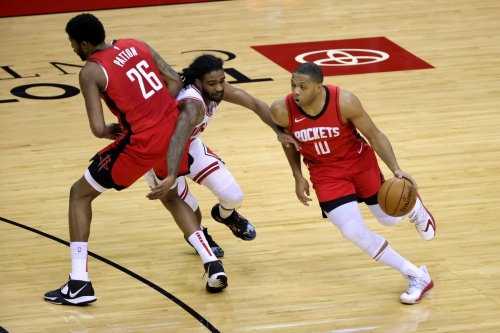 Rockets drop eighth straight game in blowout loss to the Bulls