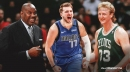 What Mavs star Luka Doncic is lacking compared to Larry Bird, per Cedric Maxwell