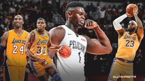 Pelicans stud Zion Williamson's historic All-Star berth matches Kobe Bryant, LeBron James