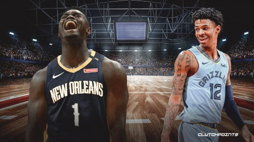 Grizzlies' Ja Morant reacts to Zion Williamson making All-Star team
