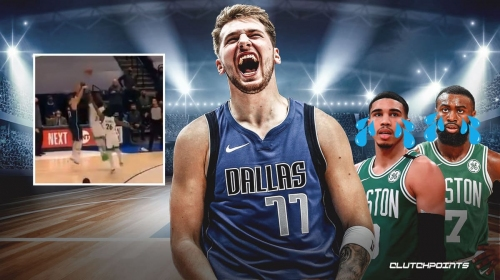 VIDEO: Mavs star Luka Doncic goes clutch with big-time game-winning triple vs. Celtics