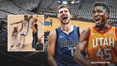 Jazz star Donovan Mitchell's 4-word reaction to Luka Doncic's game-winner vs. Celtics