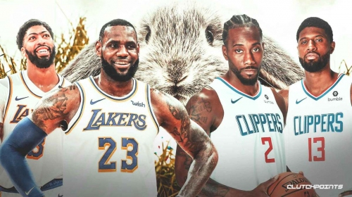Lakers-Clippers showdown highlights 2021 Easter Sunday slate