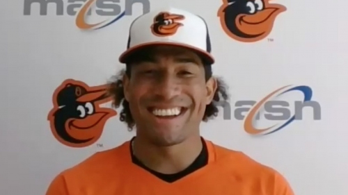 Second baseman Jahmai Jones talks about being traded to the Orioles | VIDEO