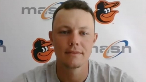 Orioles' Ryan Mountcastle on how the alternative site prepared him | VIDEO