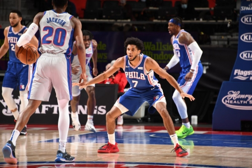 Isaiah Joe should continue to be integrated into the Sixers' rotation
