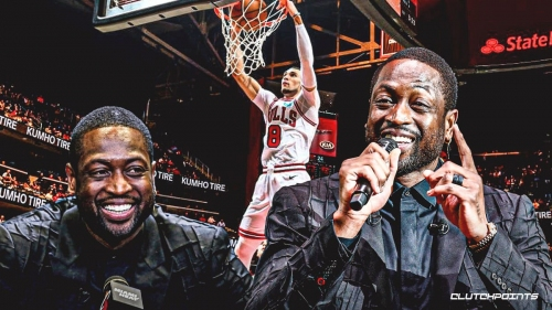 Dwyane Wade's awesome reaction to Bulls stud Zach LaVine's first All-Star selection