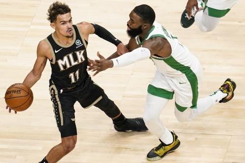 Hawks drop record-breaking 23 threes and beat Celtics 127-112