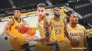 Kyle Kuzma pulled from Lakers starting lineup in surprising change vs. Jazz