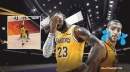 VIDEO: Lakers' LeBron James destroys Rudy Gobert's ankle, but misses out on highlight play after missed jumper