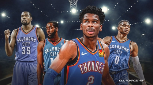 Shai Gilgeous-Alexander ties Kevin Durant with impressive Thunder record