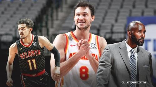 Danilo Gallinari's confident remark to Hawks coach Lloyd Pierce in 'special' game vs. Celtics