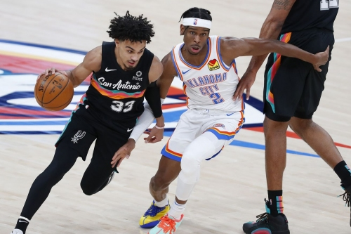 Spurs fall to Thunder buzzer-beater