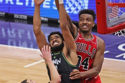 Bulls 133, Timberwolves 126: Only Bulls & Wolves in OT, No KATs