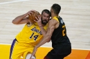 Jazz knock around Lakers in blowout loss