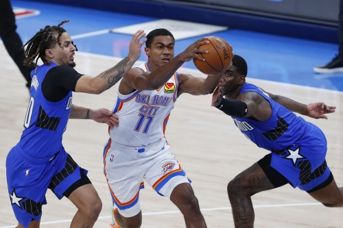 19-year-old Theo Maledon excelling in Thunder starting lineup