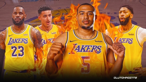 The Lakers' dirty secret in starting lineup vs. Jazz is to create trade bait
