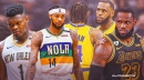 Pelicans' Brandon Ingram slaps LeBron James in the face with Zion Williamson comments