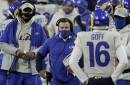 Rams' Sean McVay says goodbye to Jared Goff with a 'smile'