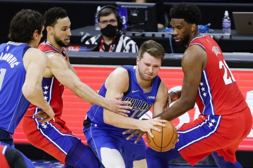 Sixers defeat Mavericks 111-97 as Embiid and Simmons lock up and bench plays well
