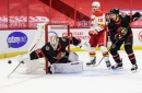 Sens Win First Battle of the Tkachuks of 2021, 6-1 Over Flames
