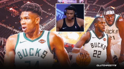 Giannis Antetokounmpo vocal on why Bucks are actually 'better' this year