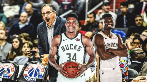 Pelicans coach Stan Van Gundy laments lack of calls for Zion Williamson, throws shade at Giannis Antetokounmpo