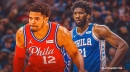 Sixers forward Tobias Harris' knee injury update will have fans sighing relief