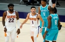 NBA: Gordon Hayward fouled Devin Booker on final shot of Suns loss to Hornets, non-call was incorrect