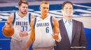 Mavs' Kristaps Porzingis reacts to popping up in trade rumors