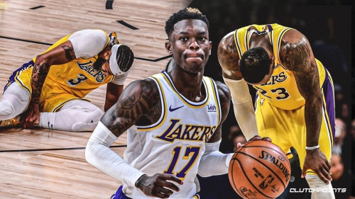 Why the Lakers missed Dennis Schroder as much as Anthony Davis