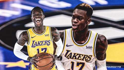 Lakers' Dennis Schroder will start vs. Blazers after four-game absence