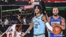 Ja Morant steals Kawhi Leonard pass, goes coast-to-coast for tough and one over Clippers star