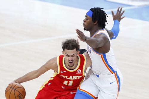 Hawks begin road trip with 118-109 loss in Oklahoma City