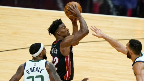 Butler leads Heat to 124-116 statement victory over Jazz