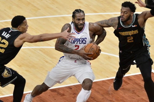 Kawhi Leonard, Clippers bounce back for split with Grizzlies