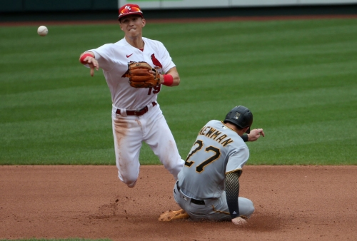 Edman is the Cardinals' second baseman, but would move if he had to