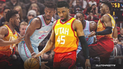 Donovan Mitchell's 2-word reaction to Jazz's tough loss vs. Heat