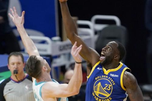 Draymond Green, Warriors exact their revenge against the Hornets