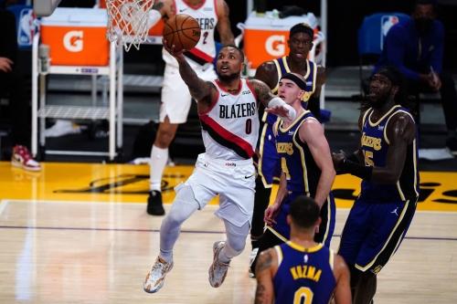 Lillard Shines, but Lakers Defense Outlasts Blazers
