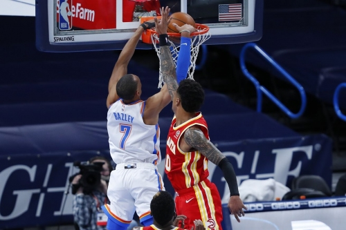 Defensive correction comes too late for Hawks in road loss to Thunder