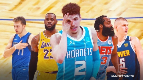 Hornets' LaMelo Ball has reached James Harden, LeBron James territory