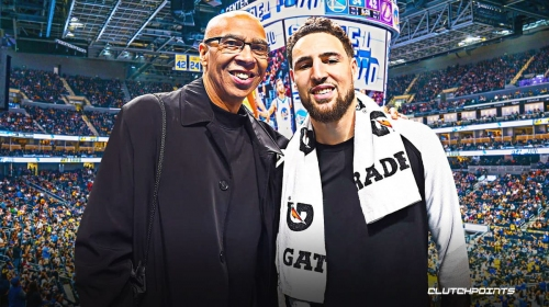 Warriors star Klay Thompson issued huge challenge from father Mychal