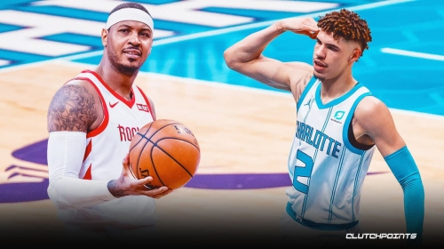 Hornets rookie LaMelo Ball fires back at Warriors announcer criticizing him over Carmelo Anthony-like celebration