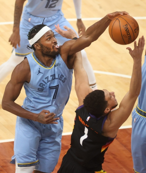 Grizzlies forward Justise WInslow in photos