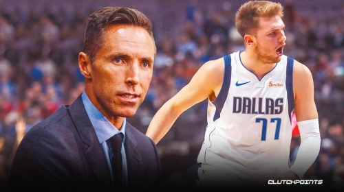 Nets coach Steve Nash gets real on the 'challenge' Mavs star Luka Doncic brings